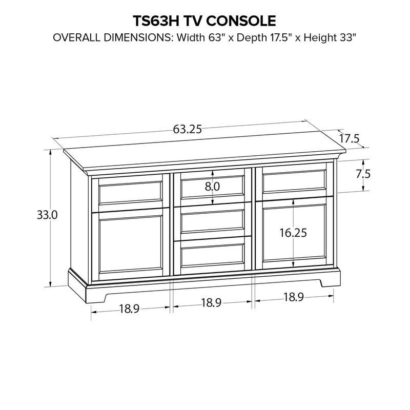 TS63H Custom TV Console