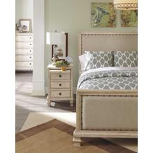 Demarlos King/Cal King UPH Panel HDBD Parchment White