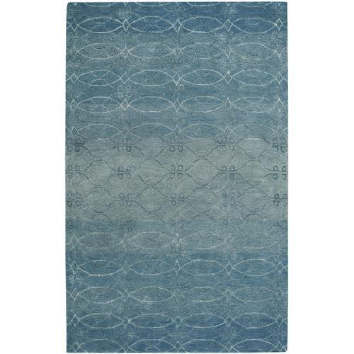 Ramblas Mediterranean Blue Hand Tufted Rugs