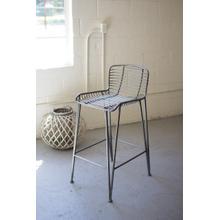 See Details - metal bar stool