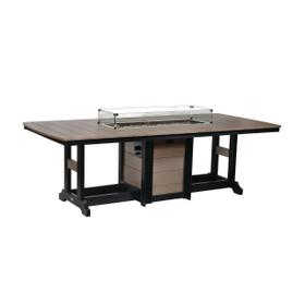 "Garden Classic 44"" x 96"" Fire Table - Bar"