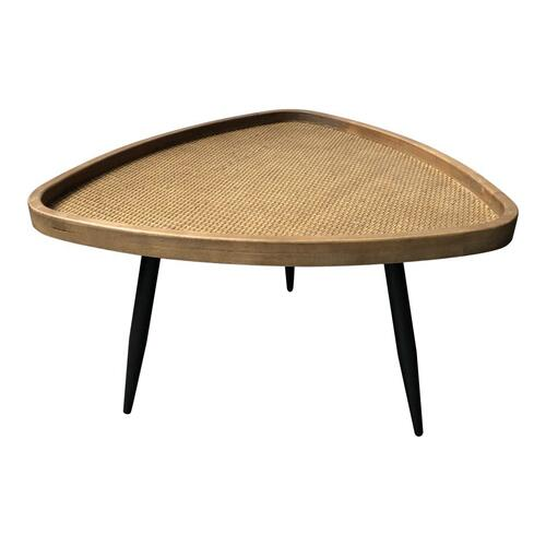 Rollo Rattan Coffee Table