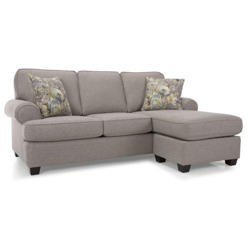 2285 Sofa w/chaise