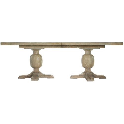 Rustic Patina Rectangular Dining Table in Sand (387)