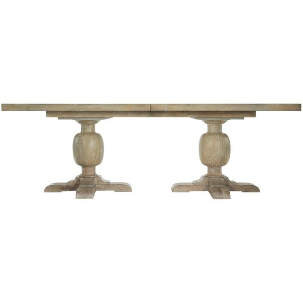 See Details - Rustic Patina Rectangular Dining Table in Sand (387)
