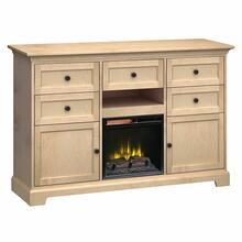 See Details - FT63E Extra Tall Fireplace Custom TV Console