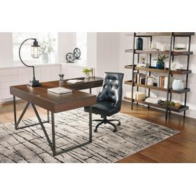 Starmore L Desk Brown
