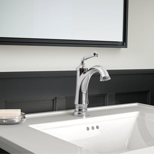 American Standard - Delancey Single-Hole Faucet - Red and Blue Indicators  American Standard - Polished Chrome