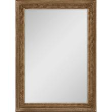 See Details - Gold Finish Mirror