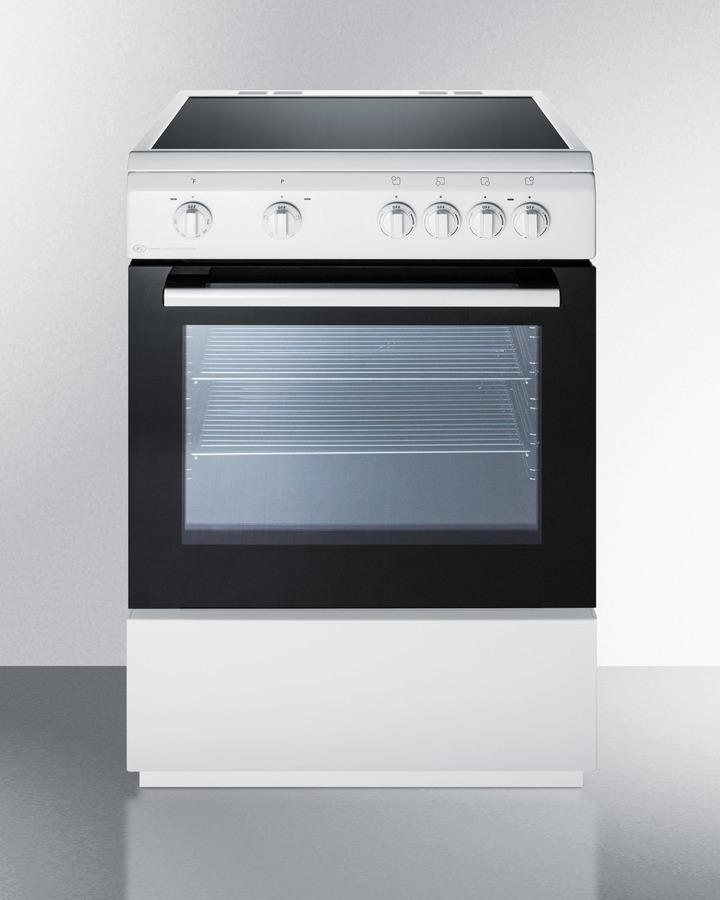 "Summit24"" Wide Smooth Top Electric Range"