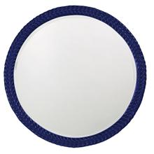 View Product - Amelia Mirror - Glossy Navy