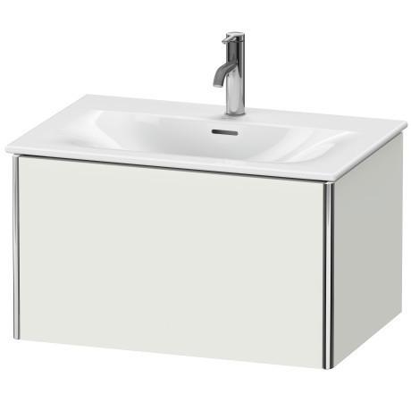 Product Image - Vanity Unit Wall-mounted, Nordic White Satin Matte (lacquer)