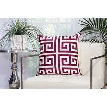 "Outdoor Pillows As047 Lilac 20"" X 20"" Throw Pillow"
