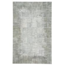 Laramie-Brushed Blocks Pewter - Rectangle - 5' x 8'