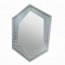 ACME Nysa Wall Decor - 97570 - Mirrored & Faux Crystals