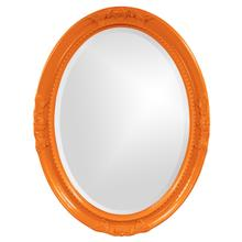 View Product - Queen Ann Mirror - Glossy Orange