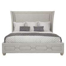 California King-Sized Criteria Upholstered Bed in Heather Gray (363)