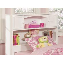 View Product - Newport Bookcase Headboard Twin White