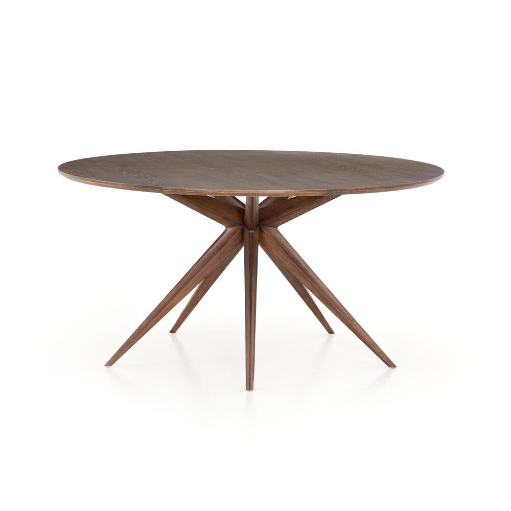 Hewitt Round Dining Table-acorn