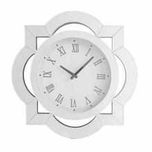 ACME Lilac Wall Clock - 97042 - Mirrored