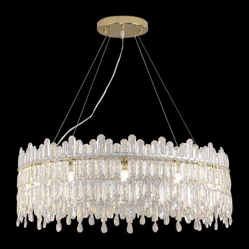 Amini - Royal Crown 12 Light Chandelier