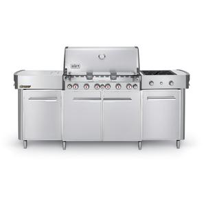SUMMIT® GRILL CENTER LP GAS - STAINLESS STEEL Product Image