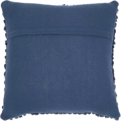 "Life Styles Dc142 Navy 20"" X 20"" Throw Pillow"