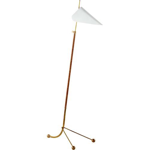 Visual Comfort - AERIN Moresby 56 inch 60.00 watt Plaster White Floor Lamp Portable Light
