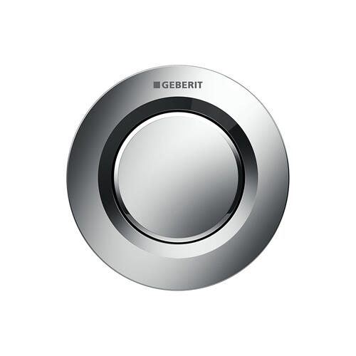 Type 01 Remote flush buttons for Sigma and Omega series in-wall toilet systems Concealed installation, Sigma 2x4 in-wall systems Compatibility Polished chrome Finish