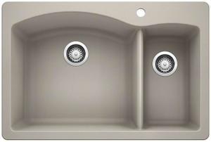 Diamond 1-1/2 Bowl - Concrete Gray Product Image