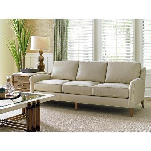 Coconut Grove Leather Sofa