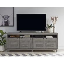 80 Inch Console - Cloud Finish