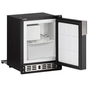 "U-LineSp18fc 14"" Crescent Ice Maker With Black Solid Finish (115 V/60 Hz Volts /60 Hz Hz)"
