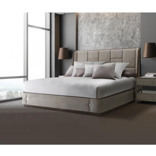 Amini - Cal King Multi-panel Bed (3 Pc)