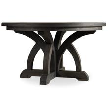View Product - Corsica Dark Round Dining Table w/1-18in Leaf