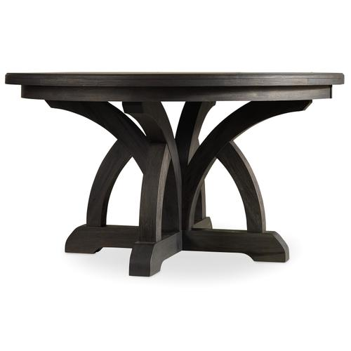 Hooker Furniture - Corsica Dark Round Dining Table w/1-18in Leaf