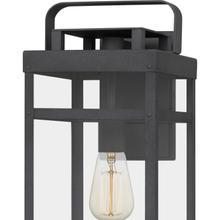 View Product - Keaton Outdoor Lantern in Mottled Black