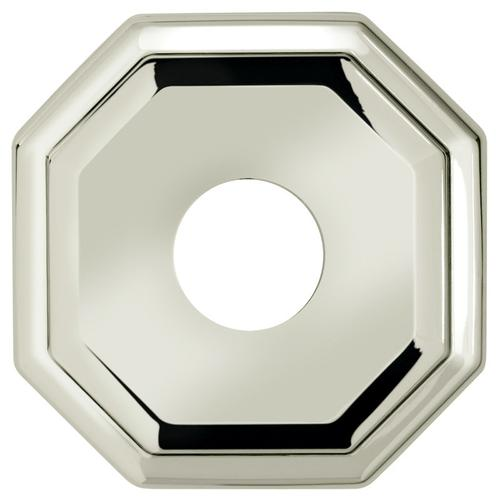 """Omnia Industries - 2 5/8"""" dia. Thru-Bolted Traditional Octagonal Rose in (2-5/8"""" dia. Thru-Bolted Traditional Octagonal Rose - Solid Brass)"""