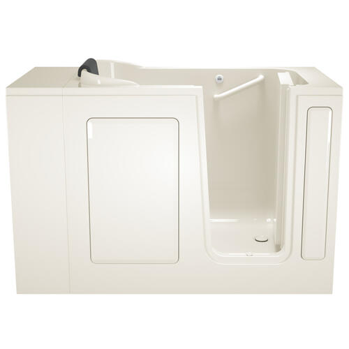 Product Image - Gelcoat Premium Series 28x48-inch Walk-in Bathtub  Soaking Tub  American Standard - Linen