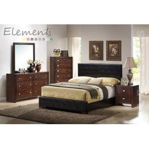 Darcey Arielle Queen Bed Brown (*Full Assembly Dimension*
