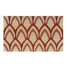 Doormat Clovis Red 18x30