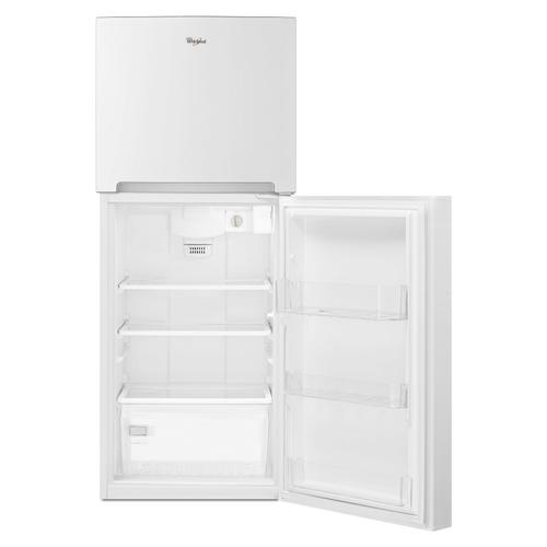 25-inch Wide Top Freezer Refrigerator - 11 cu. ft. White