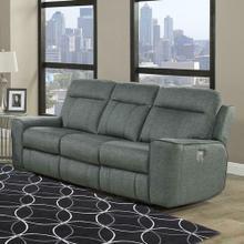 View Product - PARTHENON - TITANIUM Power Sofa