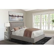 See Details - CODY - CORK Upholstered Bed Collection (Grey)