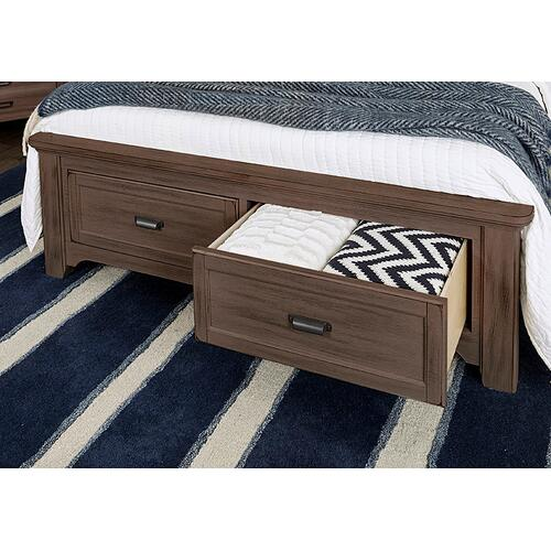 Upholstered Storage Bed in Queen & King