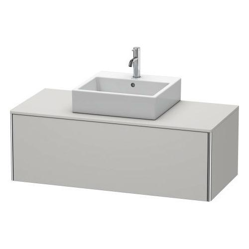 Duravit - Vanity Unit For Console Wall-mounted, Nordic White Satin Matte (lacquer)