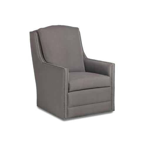 798-T-S CASEY TRACK ARM SWIVEL CHAIR