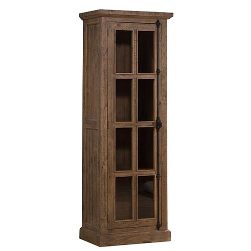 Gallery - Tuscan Retreat® Tall Single Door Cabinet - Aged Gray