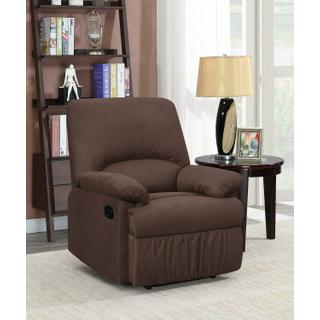 See Details - Casual Chocolate Motion Recliner