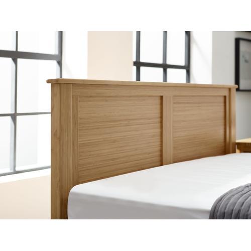 Hosta Queen Platform Bed, Caramelized